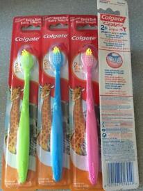 New Colgate kids toothbrush