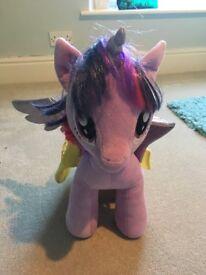 my little pony build a bear twilight sparkle