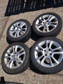 Vauxhall ally wheels