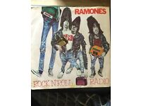 """Ramones 7"""" Rock n Roll Radio,It's in Great condition"""