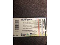 4 x England VS Pakistan test match tickets 2nd June 2018 headingley Leeds Yorkshire CCC