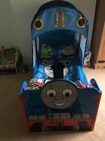 Thomas the tank bed and accessories