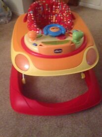 Chicco Band Baby Walker excellent condition
