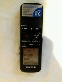 Sony icd-px312 voice recorder