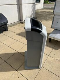 Large recycling and general waste bins (multiple)