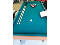 childrens Pool table For sale.
