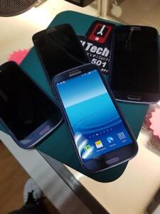 Unlocked Samsung Galaxy S3 Only 135$ - 16G Pearl Blue & White At Cell Tech Niagara 10+ Available