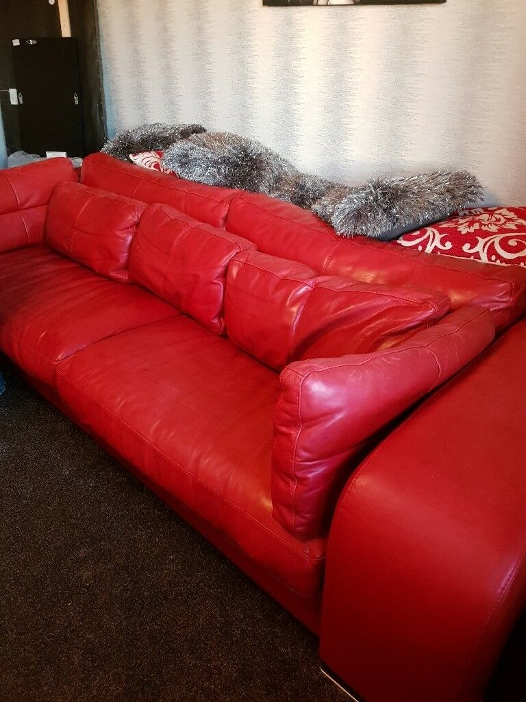 Brilliant Giovanni Sforza Genuine Leather Sofa In Peterculter Aberdeen Gumtree Ocoug Best Dining Table And Chair Ideas Images Ocougorg