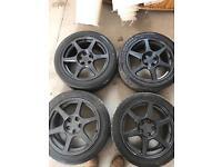 Mitsubishi evo wheels