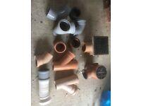 Various drainage bits