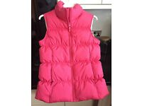 Body warmer by Lands end age 10-11 years - never been worn - fuschia pink