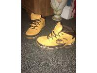 Size 7.5 timberland boots