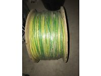 500 m of 4mm earth cable