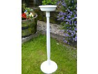 Large wooden candlestick