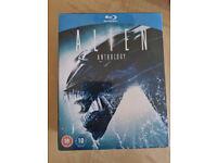 Alien Anthology Blue ray DVD (part 1 - 4) New sealed