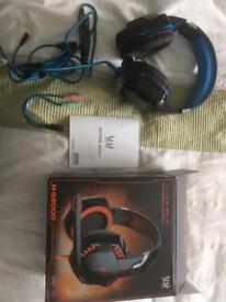 Gaming headset with mic Brand New