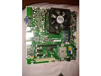 HP Motherboard - CPU - Memory bundle