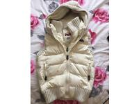 Very warm Superdry gillet size 8