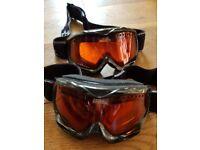 Kids no fear ski goggles