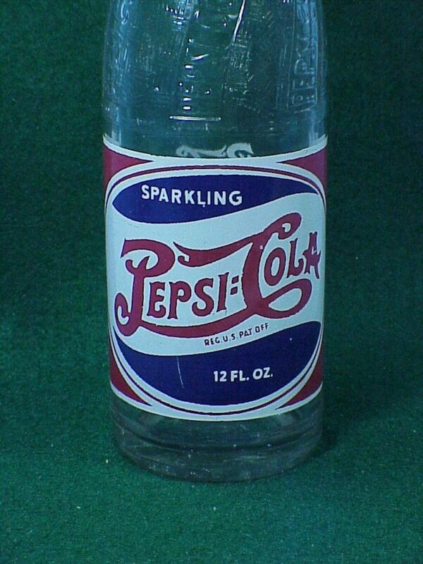 Pepsi Bottle Chamberlain, SD   -  10  -A