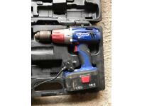 Thompson 18v drill with charger and case
