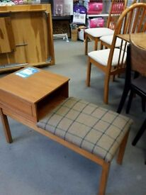 Vintage Telephone Table - Excellent condition