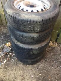 Vauxhall combo van wheels Tires