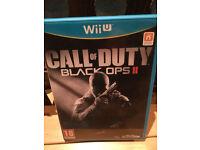 Call of Duty Black Ops II Wii U game