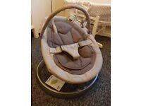 Nuna Leaf Luxx Baby Chair and Rocker
