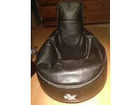 i-eX GAMING BEAN BAG WITH HEAD REST
