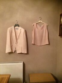 Angelita morillo mother of bride 3 piece suit size 46
