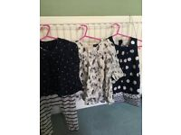 Lovely bundle of baby girl's clothes 6-12 months (inc gap,next)