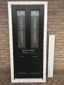 Brand New in wrapping Jacobean Composite Rock Door White & Black