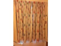 Girls owl curtains and bedding