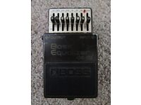 Boss Bass Equalizer GE-7B 1980
