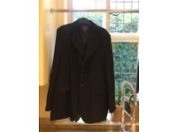 Men's Dublin competition riding jacket In Black