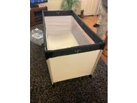 Travel cot in really good condition and quality bargain £20