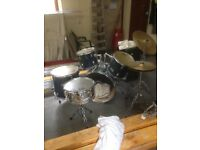 7 piece session pro drum kit