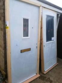 Front & back doors