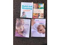 Baby /pregnancy/weaning cookbooks
