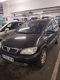 Vauxhall Zafira 1.8 (05 Reliable family car