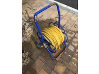 100m 8mm hose with reel for window cleaning