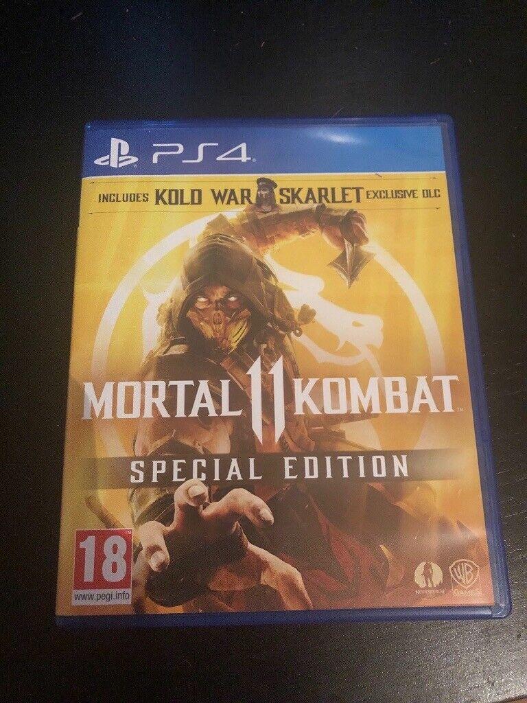 Ps4 Mortal kombat 11 Special edition, including pre order Bonuses | in  Brighton, East Sussex | Gumtree