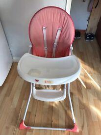 High feeding chair