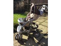 Mothercare pram travel system used good condition