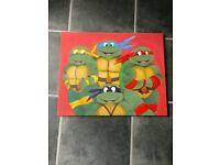 Tennage mutant ninja Turtles canvas