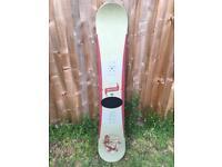 Santa Cruz snowboard 158