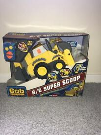 Bob The Builder Remote Control Super Scoop Digger (Brand New) RRP £25