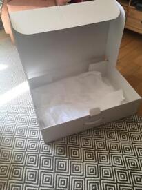 Extra large wedding dress box