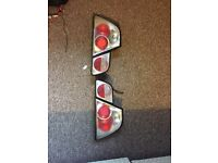Bmw rear lexus style lights for a e46.